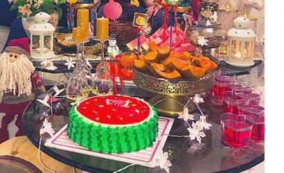 une table pour Shab ê yalda